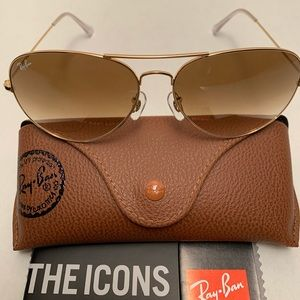 Ray-Ban Aviator Sunglasses RB3026 62-14mm 001/51